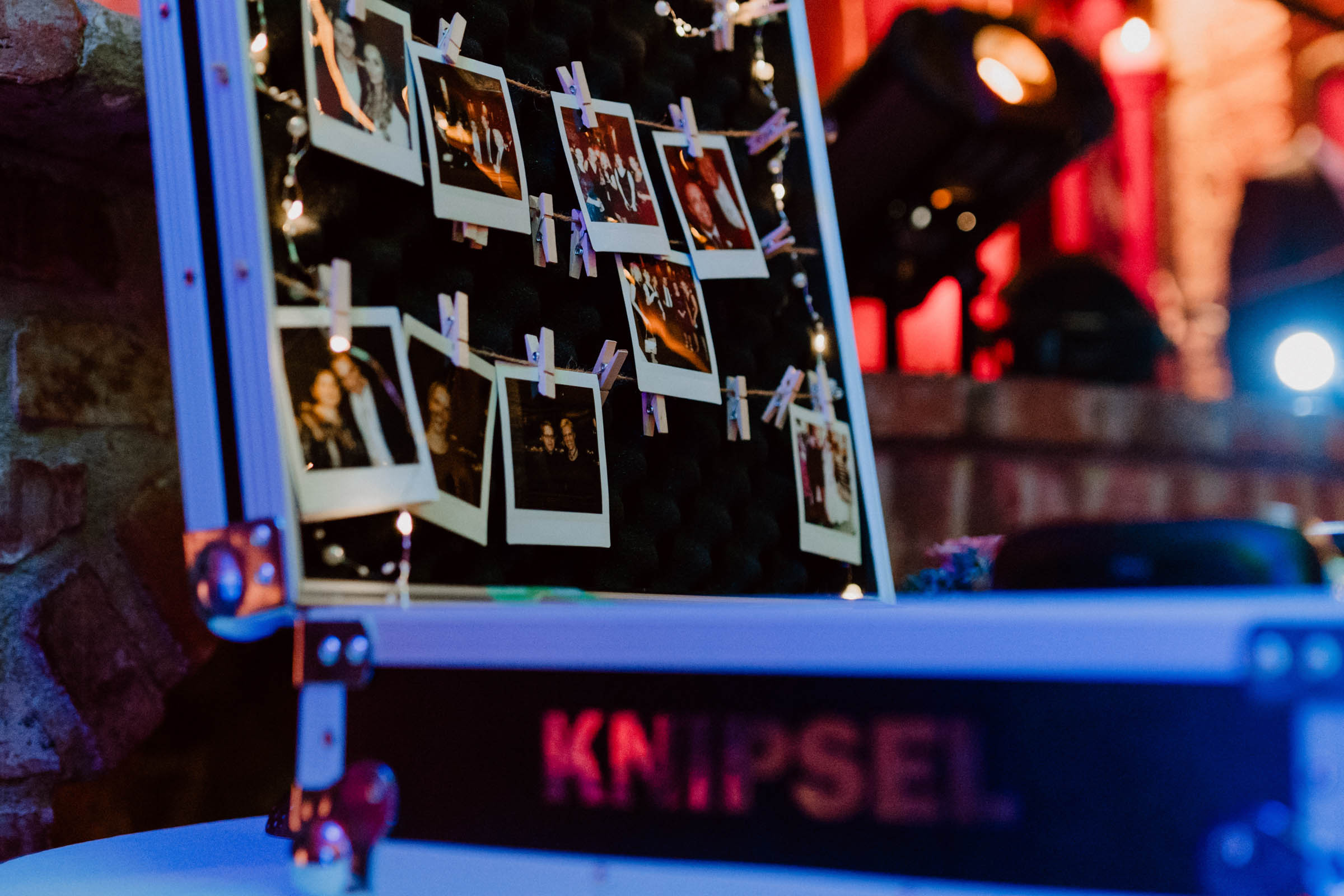 Knipsel Polaroid Koffer - Kamera - Mieten - Hochzeit - Sofortbild - Fotografie